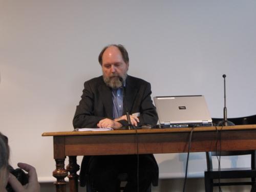 Prof. Hagemeister im Literaturhaus Zürich 2009